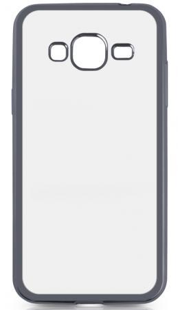 Чехол силиконовый DF sCase-28 с рамкой для Samsung Galaxy J3 2016 серый силиконовый чехол с рамкой для samsung galaxy s7 df scase 32 gold