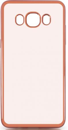 все цены на Чехол силиконовый DF sCase-29 с рамкой для Samsung Galaxy J5 2016 розовый онлайн