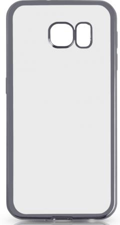 Чехол силиконовый DF sCase-31 с рамкой для Samsung Galaxy S6 серый силиконовый чехол с рамкой для samsung galaxy j2 prime grand prime 2016 df scase 36 black