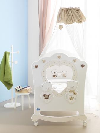 Кроватка-качалка Pali Celine (белый) кроватка качалка pali principe prestige магнолия