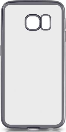 Чехол силиконовый DF sCase-19 с рамкой для Samsung Galaxy S6 Edge серый силиконовый чехол с рамкой для samsung galaxy j2 prime grand prime 2016 df scase 36 black