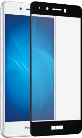 Защитное стекло DF hwColor-11 для Huawei Honor 6C с рамкой черный цена и фото