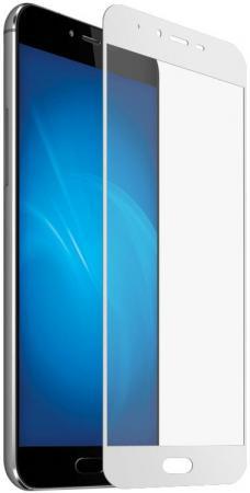 Защитное стекло DF sColor-10 для Samsung Galaxy J5 Prime/On5 2016 с рамкой белый защитное стекло для samsung galaxy j5 prime sm g570f caseguru на весь экран с белой рамкой