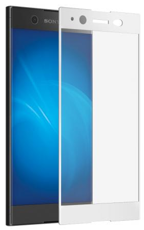 Защитное стекло DF xColor-07 для Sony Xperia XA1 Ultra с рамкой белый защитное стекло df для sony xperia c5 ultra xsteel 22
