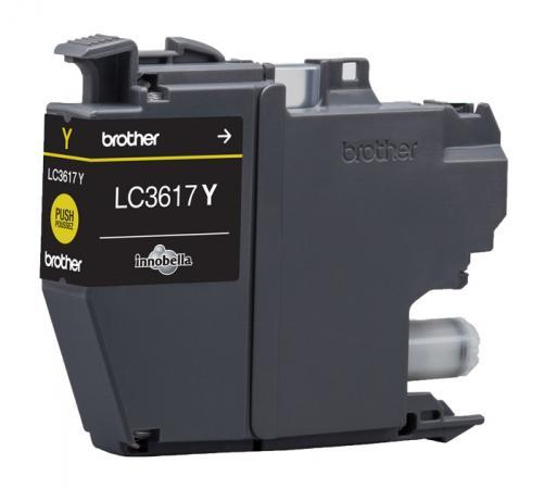 Картридж Brother LC3617Y для Brother MFC-J3530DW/J3930DW желтый 550стр ac1426d67701