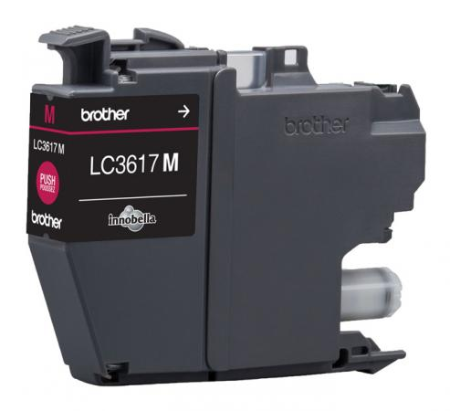 Картридж Brother LC3617M для Brother MFC-J3530DW/J3930DW пурпурный 550стр brother innov is 670