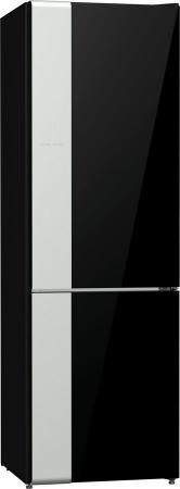 Холодильник Gorenje NRK612ORAB черный серебристый gorenje mmo20deii серебристый