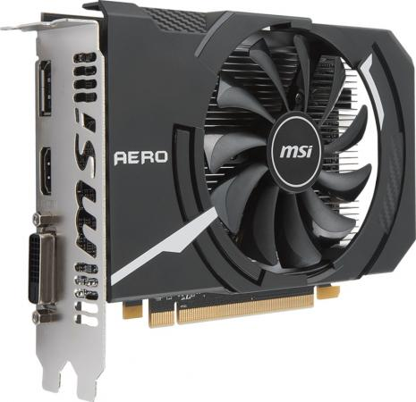 цена на Видеокарта MSI Radeon RX 550 RX 550 AERO ITX 2G OC PCI-E 2048Mb 128 Bit Retail
