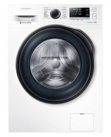 Стиральная машина Samsung WW90J6410CW1 белый стиральная машина samsung ww65k42e08wdlp