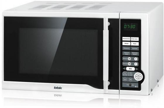 лучшая цена Микроволновая печь BBK 20MWS-770S/W 700 Вт белый