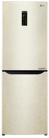 Холодильник LG GA-B389SEQZ бежевый lg ga b489tgdf