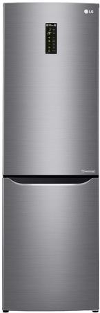 Холодильник LG GA-B429SMQZ серебристый серый черный холодильник lg ga b499zvsp серебристый