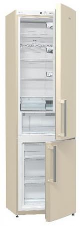 Холодильник Gorenje NRK6201GHC бежевый