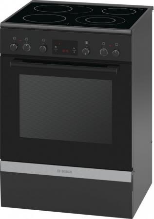 Электрическая плита Bosch HCA644260R черный bosch bosch hba43t360 черный электрическая