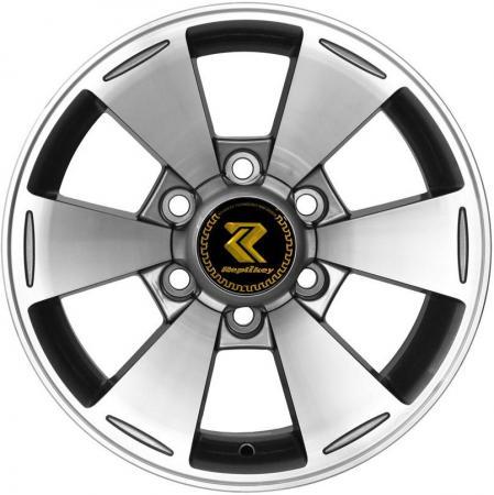 Диск RepliKey Mitsubishi Pajero Sport/L200 7xR16 6x139.7 мм ET10 GMF [RK589Q] литой диск replica fr ty141 7 5х18 5х114 3 d60 1 ет45 gmf
