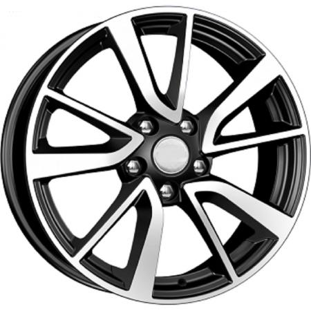 диск replikey toyota camry 7xr17 5x114 3 мм et45 bkf [rk0806] Диск K&K Toyota Camry (КСr699) 7xR17 5x114.3 мм ET45 Алмаз черный 65553