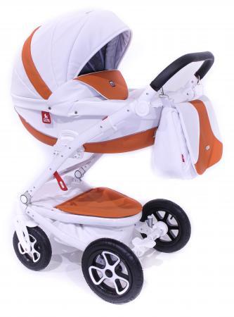 Коляска 2-в-1 Tutek Timer ECO (шасси white/цвет eco101) детская коляска 2 в 1 esspero discovery grand шасси black