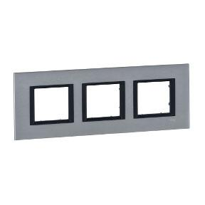 все цены на Рамка 3 пост серебристый алюминий Schneider Electric MGU68.006.7A1 онлайн