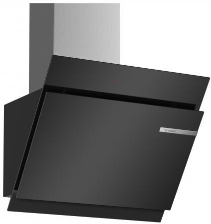 Вытяжка каминная Bosch DWK67JM60 черный вытяжка bosch dwk67jm60 dwk67jm60