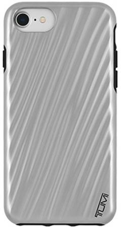 Чехол Tumi 19 Degree Case для iPhone 7. Материал пластик. Цвет серый. Дизайн Metallic Gunmetal. for 2017 new kindle fire 7 armor shockproof hybrid heavy duty protective stand cover case for amazon kindle fire 7 2017