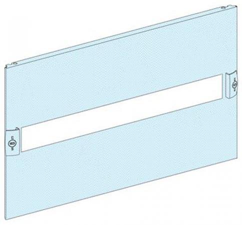 Передняя панель Schneider Electric с вырезом 4 модуля 03204  шкаф электрический напольный schneider electric 600мм 33 модуля 8204