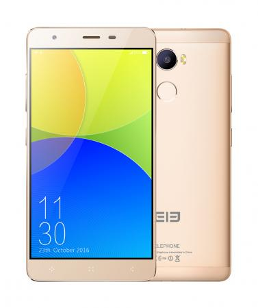 Смартфон Elephone C1 золотистый 5.5 16 Гб LTE Wi-Fi GPS 3G C1_2GB_16GB_Gold new elephone a8 android smartphone 7 0 quad core cpu 5 inch dis hot 17oct25 drop ship f