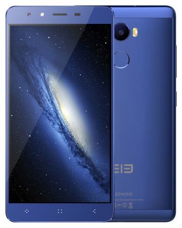 Смартфон Elephone C1 синий 5.5 16 Гб LTE Wi-Fi GPS 3G C1_2GB_16GB_Blue смартфон asus zenfone live zb501kl золотистый 5 32 гб lte wi fi gps 3g 90ak0072 m00140