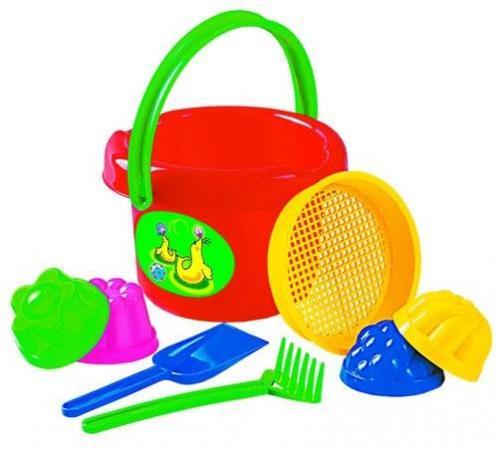 Набор для песка Полесье Набор №10 8 предметов 927671 игрушки для песка полесье 455 с тачкой полесье