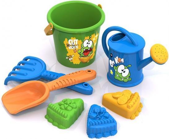 Песочный набор Нордпласт Ам Ням №5 431824 игрушки в песочницу нордпласт набор для песка ам ням 1