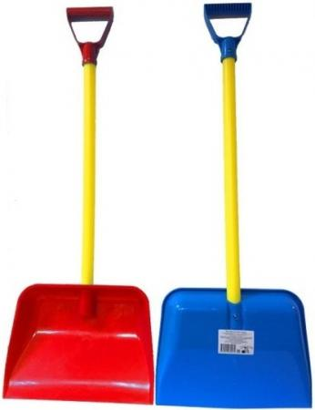 купить Лопата для снега Zebratoys 80 см 15-10194 по цене 200 рублей