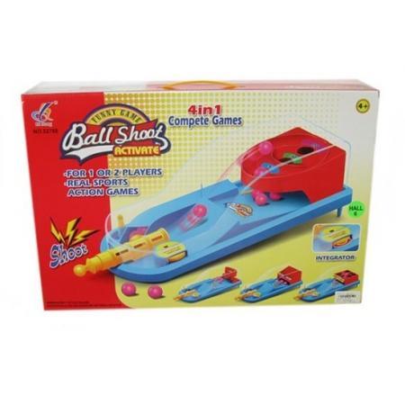 Настольная игра спортивная Shantou Gepai Точное попадание 631215 настольная игра спортивная shantou gepai боулинг 5777 23a