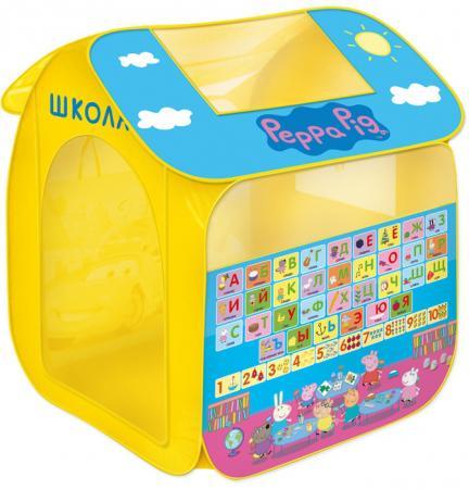 Игровая палатка РОСМЭН Учим азбуку с Пеппой. Peppa Pig 30010 россия ёлочная игрушка шар мяч шоколадный
