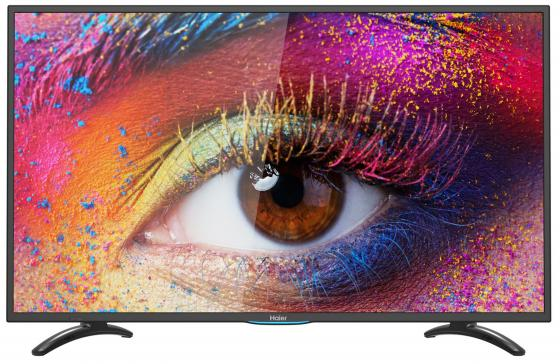"Телевизор LED 40"" Haier LE40U5000TF черный 1920x1080 60 Гц Smart TV USB VGA RJ-45 SCART"
