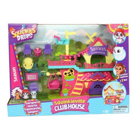Игровой набор Squinkies Клуб друзей 31796 5 предметов набор фигурок squinkies disney princess cinderela