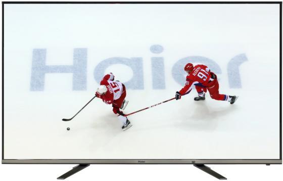 Телевизор LED 50 Haier LE50K5500TF серебристый 1920x1080 60 Гц Wi-Fi Smart TV RJ-45 SCART led телевизор haier le48u5000