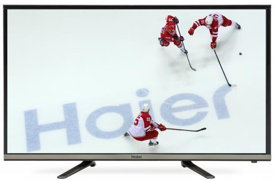 Телевизор LED 32 Haier LE32K5500T серебристый 1366x768 60 Гц Wi-Fi Smart TV RJ-45 4k uhd телевизор haier le43u6500u