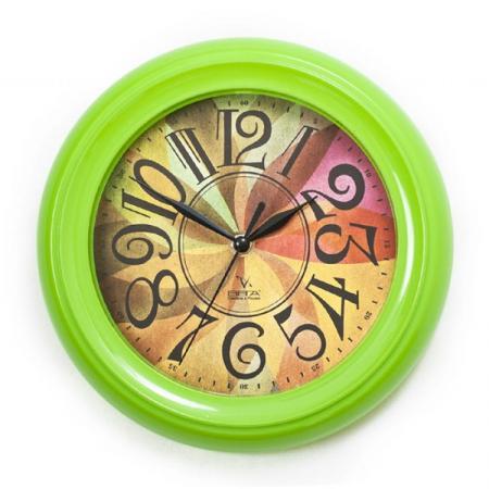 Часы настенные Вега П 6-3 мат-35 зелёный часы настенные вега пейзаж п4 3 7 82 зелёный
