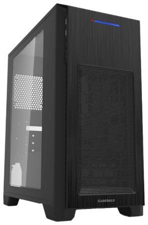 Корпус microATX GameMax H603-2U3 (H603BK) Без БП чёрный цена и фото