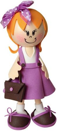 Набор для творчества Волшебная мастерская создай куклу Школьница от 12 лет к010 наборы для творчества волшебная мастерская набор для творчества создай куклу божья коровка