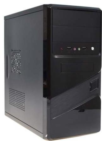 Корпус microATX Super Power Winard 5816 Без БП чёрный корпус microatx super power winard 5819 без бп чёрный серебристый