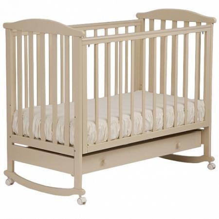 Кроватка-качалка Лель Лютик АБ 15.1 (слоновая кость) лель кроватка лель лютик аб 15 3 махагон