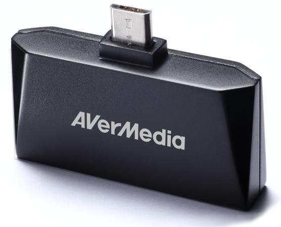 Тюнер цифровой ТВ AVerMedia AVerTV Mobile 510 EW510 USB внешний avermedia avertv hybrid volar t2