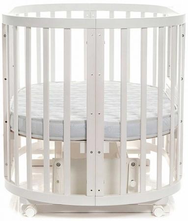 Кроватка-трансформер с маятником Noony Cozy (слоновая кость) кроватка трансформер ведрусс раиса с маятником темная