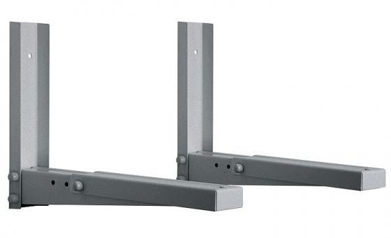 Кронштейн для СВЧ-печей Holder MWS-2002 металлик max 40 кг настенный от стены 285 мм кронштейн для свч holder mws 2003