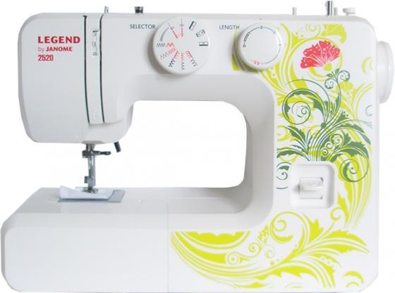 Швейная машина Janome Legend 2520 белый/рисунок все цены