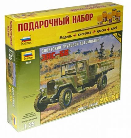 Грузовик Звезда ЗиС-5 1:35 зеленый грузовик звезда зис 151 1 35 3541п 1 35 зеленый