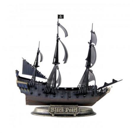 Корабль Звезда Черная Жемчужина 1:350 черный черная жемчужина корабль капитана джека воробья
