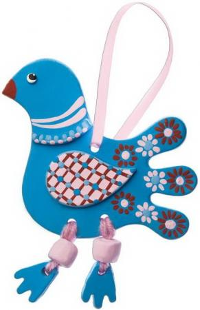 Развивающий набор для творчества Arti Глиняная птичка Олли arti набор для создания глиняной птички олли