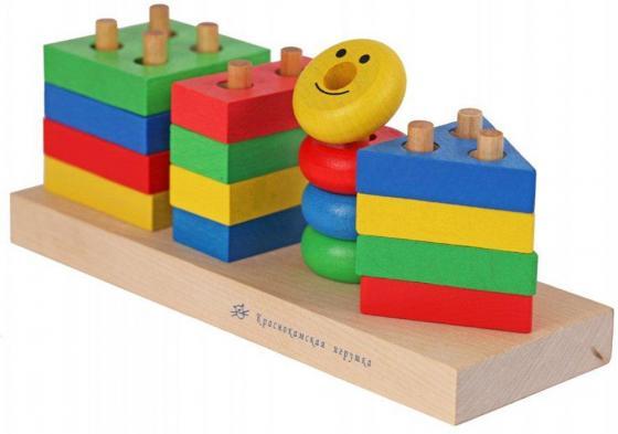 Конструктор КРАСНОКАМСКАЯ ИГРУШКА Геометрик НСК-01 набор краснокамская игрушка геометрические тела н 39
