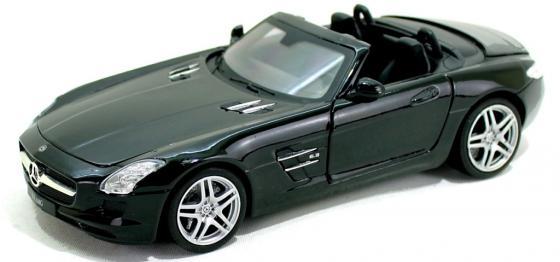 Автомобиль Hoffmann Mercedes-Benz SLS AMG 1:24 зеленый электромобиль mercedes benz sls amg белый